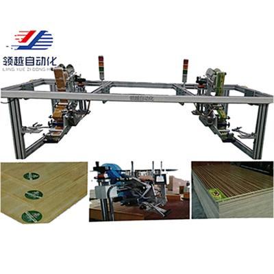 Customized plate assembly line flat labeling machine